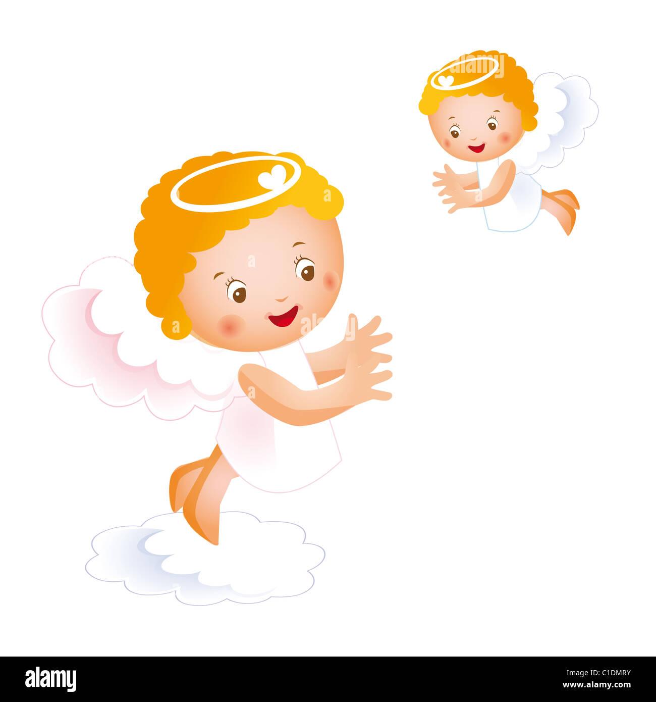 Angelitos En El Cielo Foto Imagen De Stock 35337119 Alamy