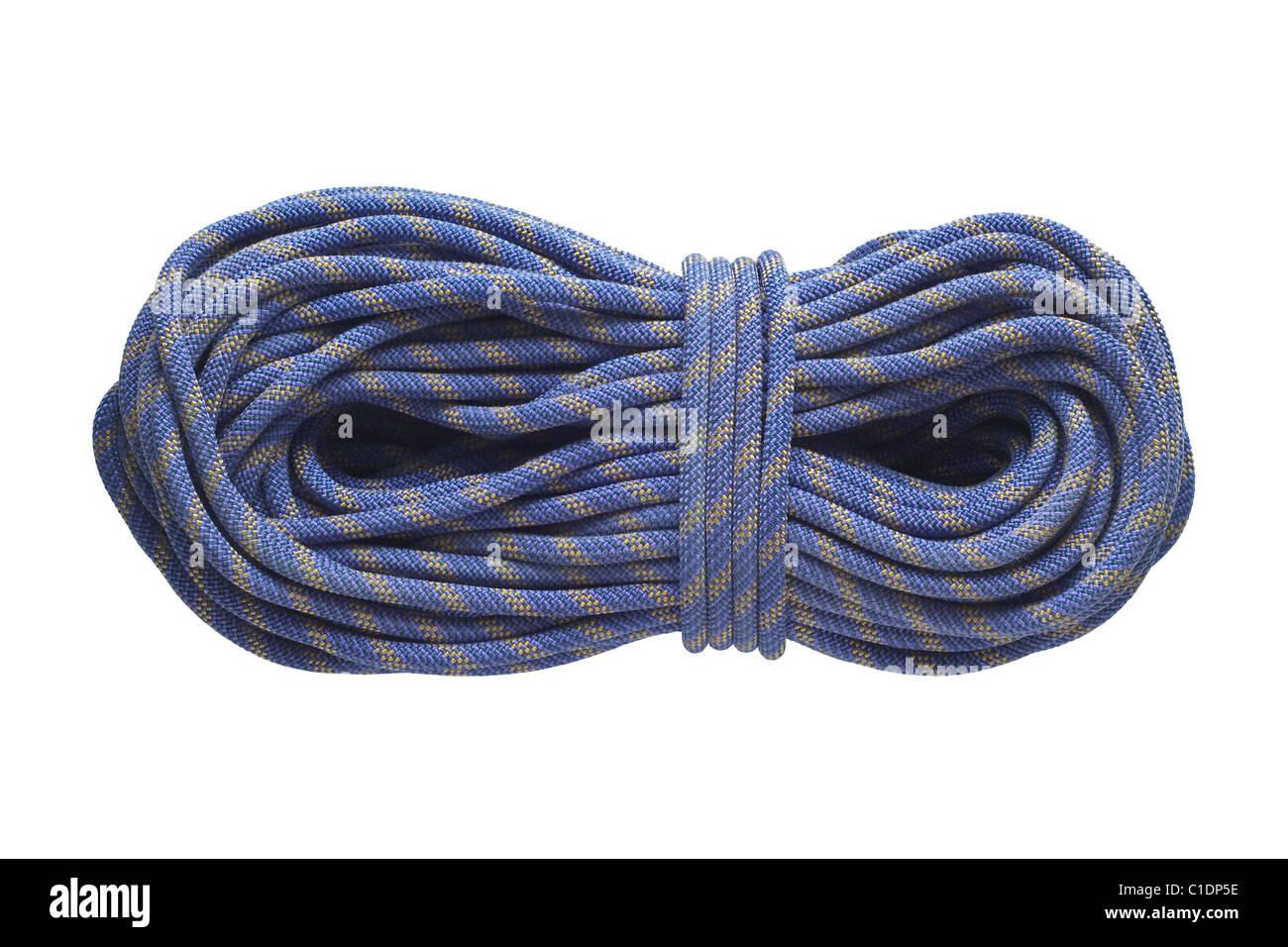 Cuerda para actividad recreativa aislado en blanco Imagen De Stock