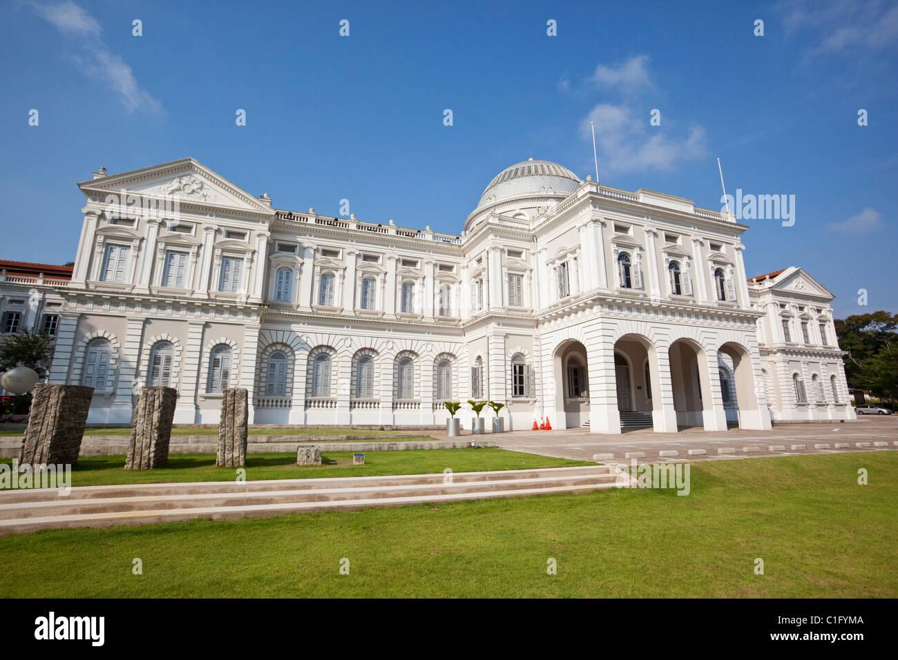 Arquitectura colonial del Museo Nacional de Singapur, Singapur Imagen De Stock