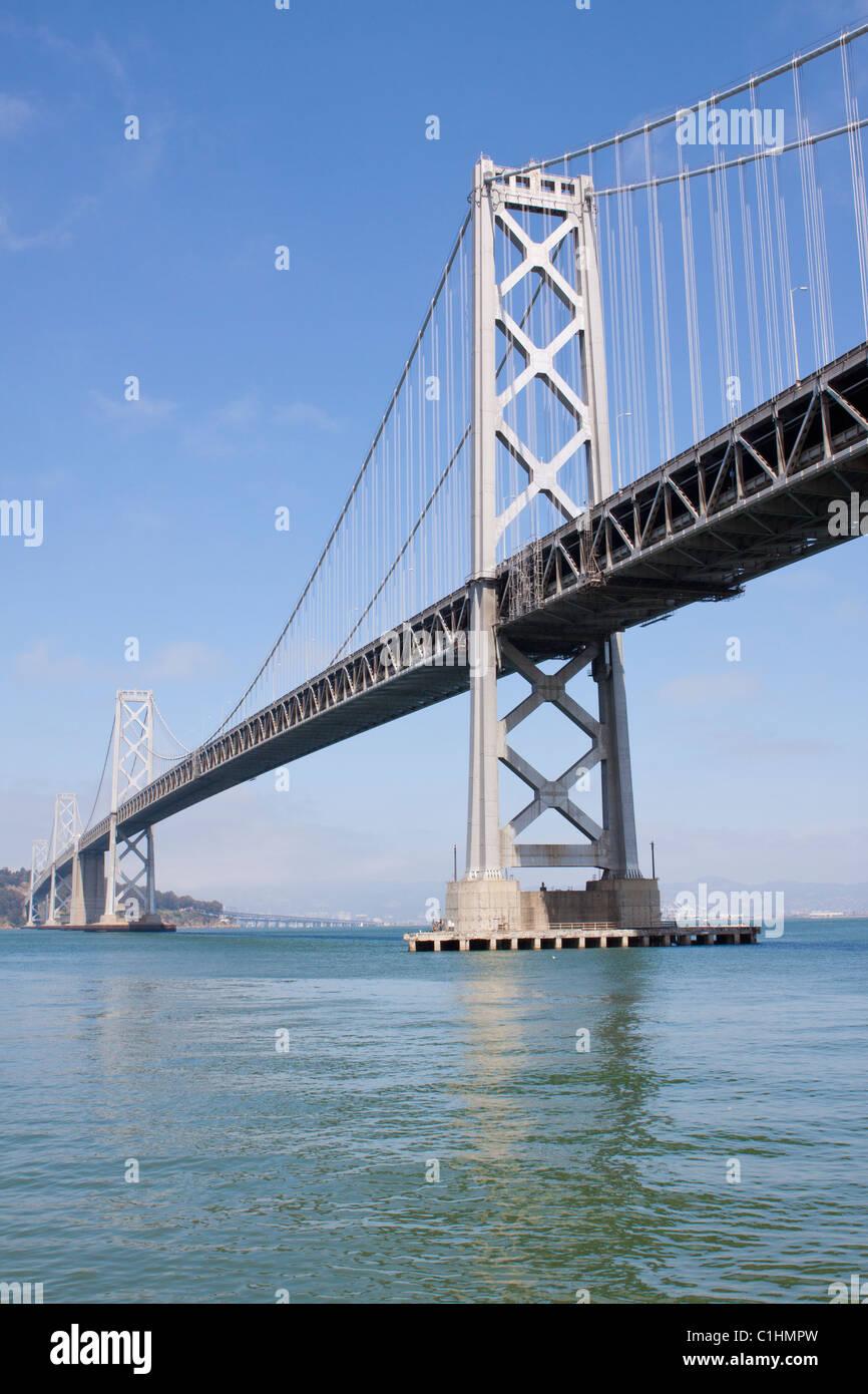 Puente de la Bahía de San Francisco Foto de stock