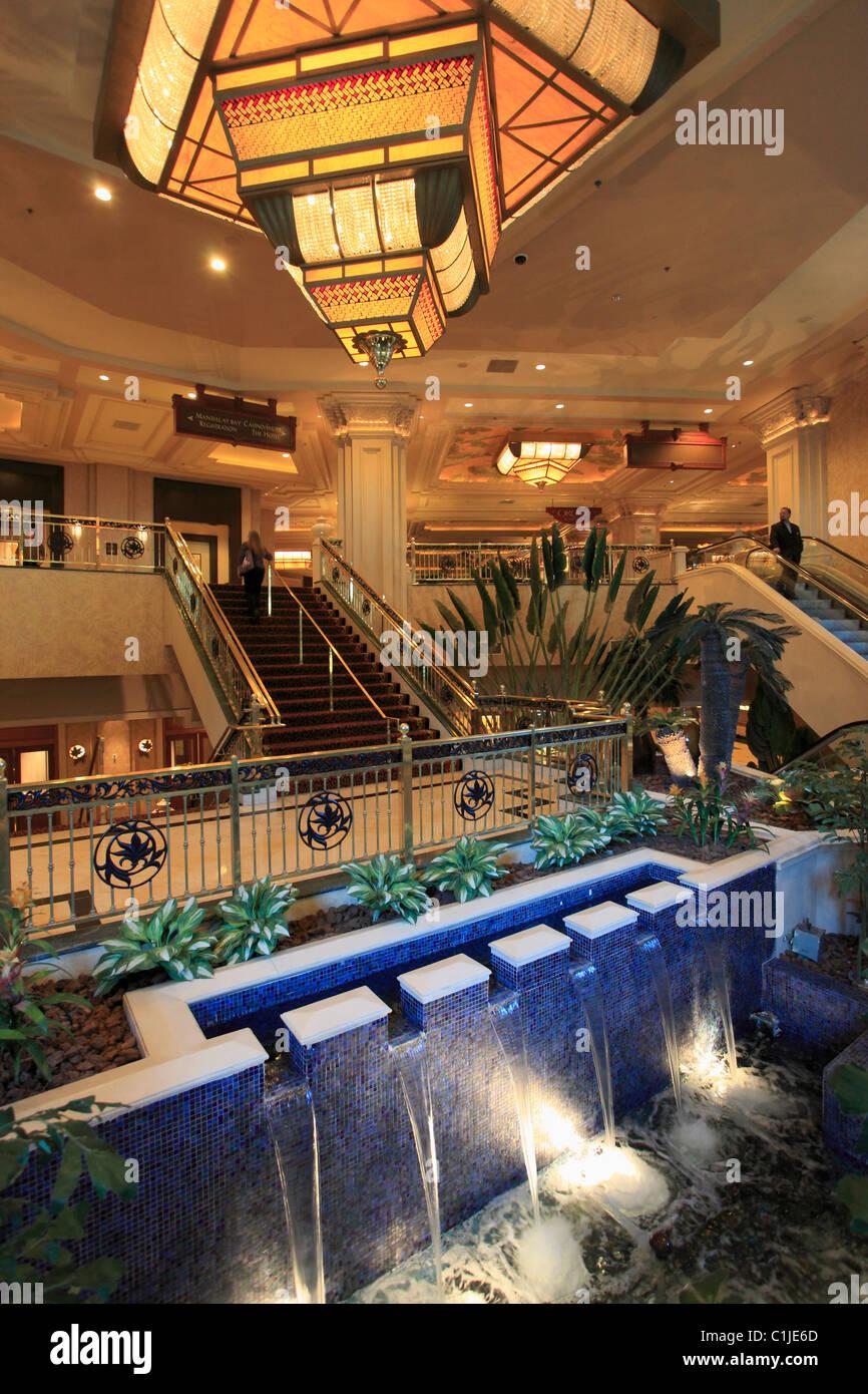 Estados Unidos, Nevada, Las Vegas, Mandalay Bay, hotel casino resort Foto de stock