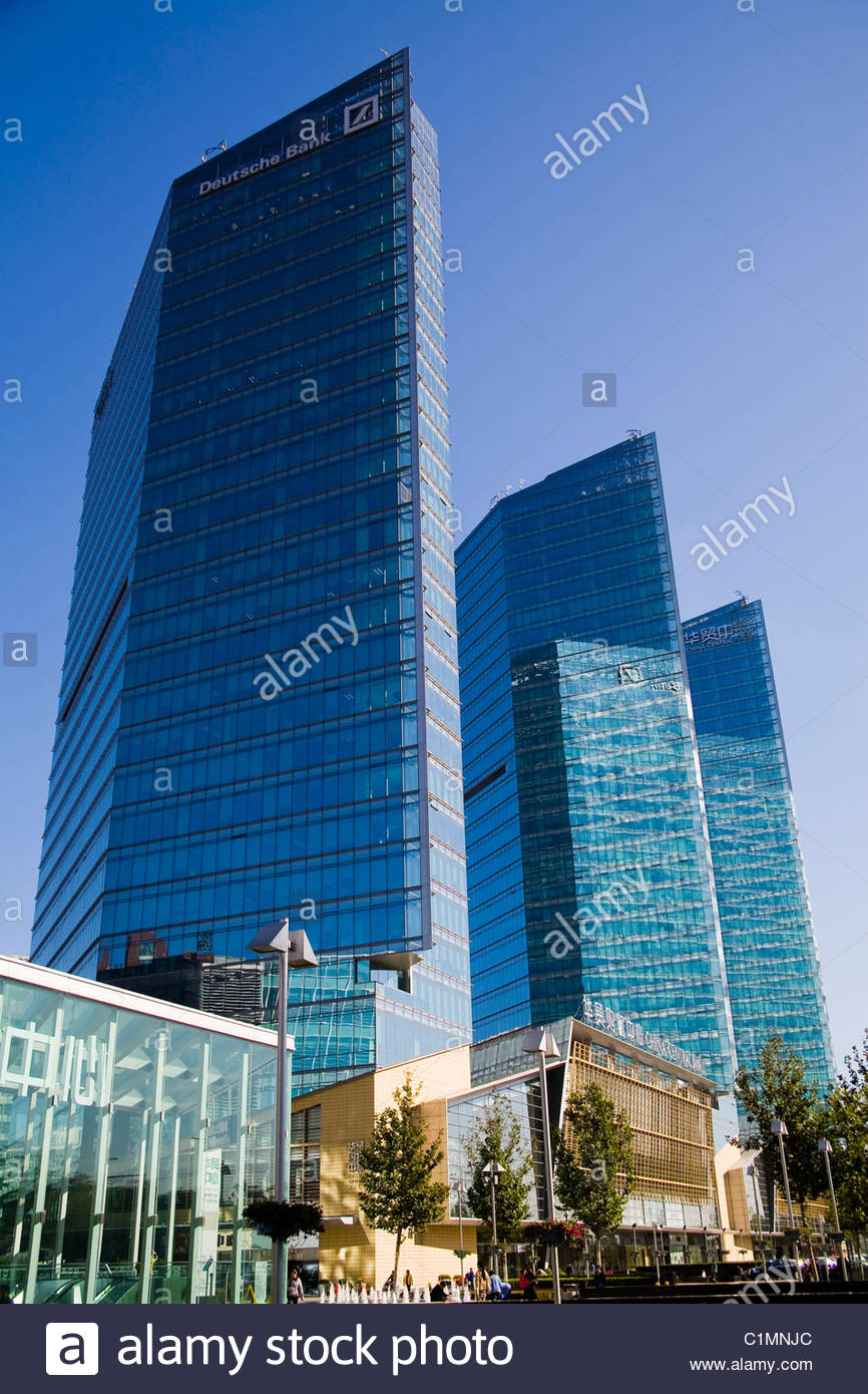 Deutsche bank place im genes de stock deutsche bank for Oficinas de deutsche bank