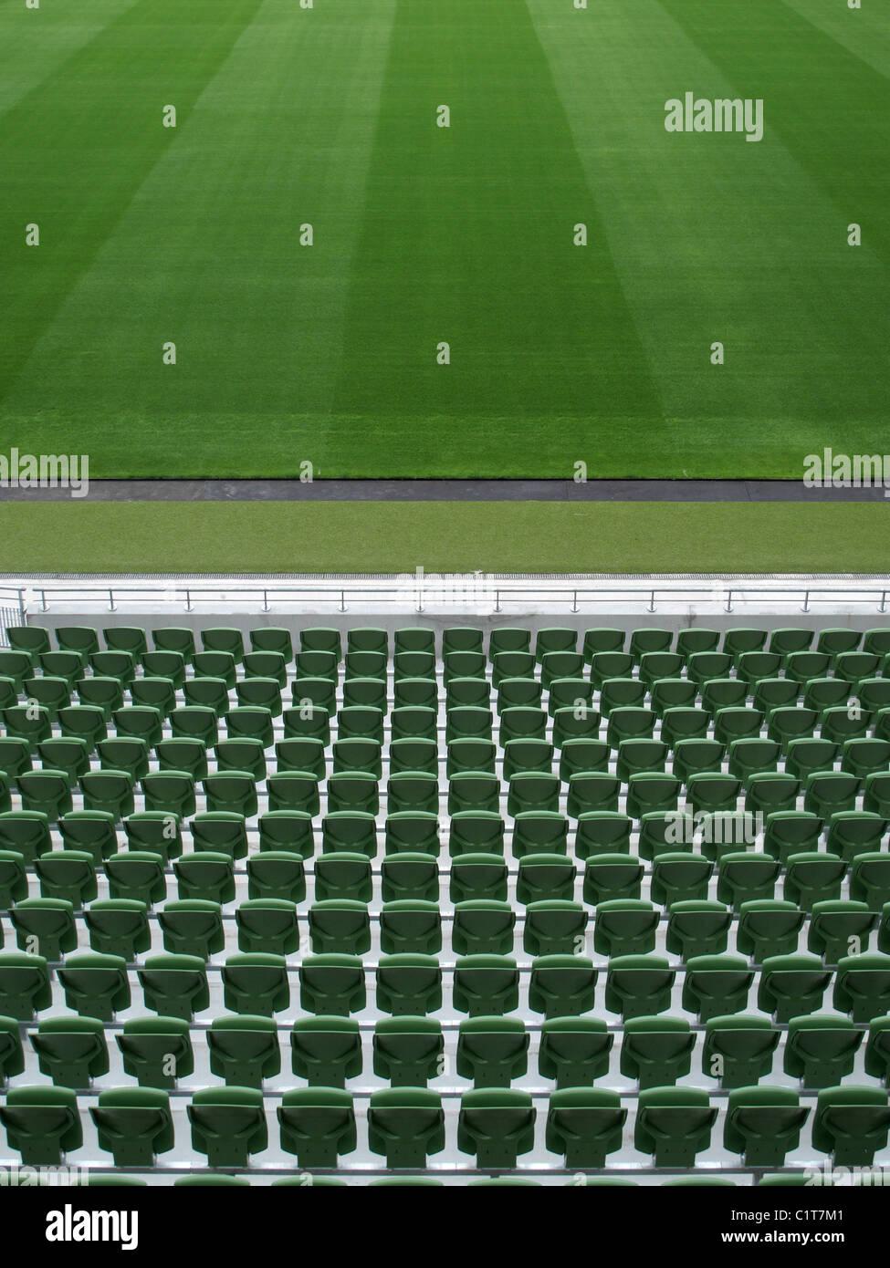 Estadio vacío Imagen De Stock