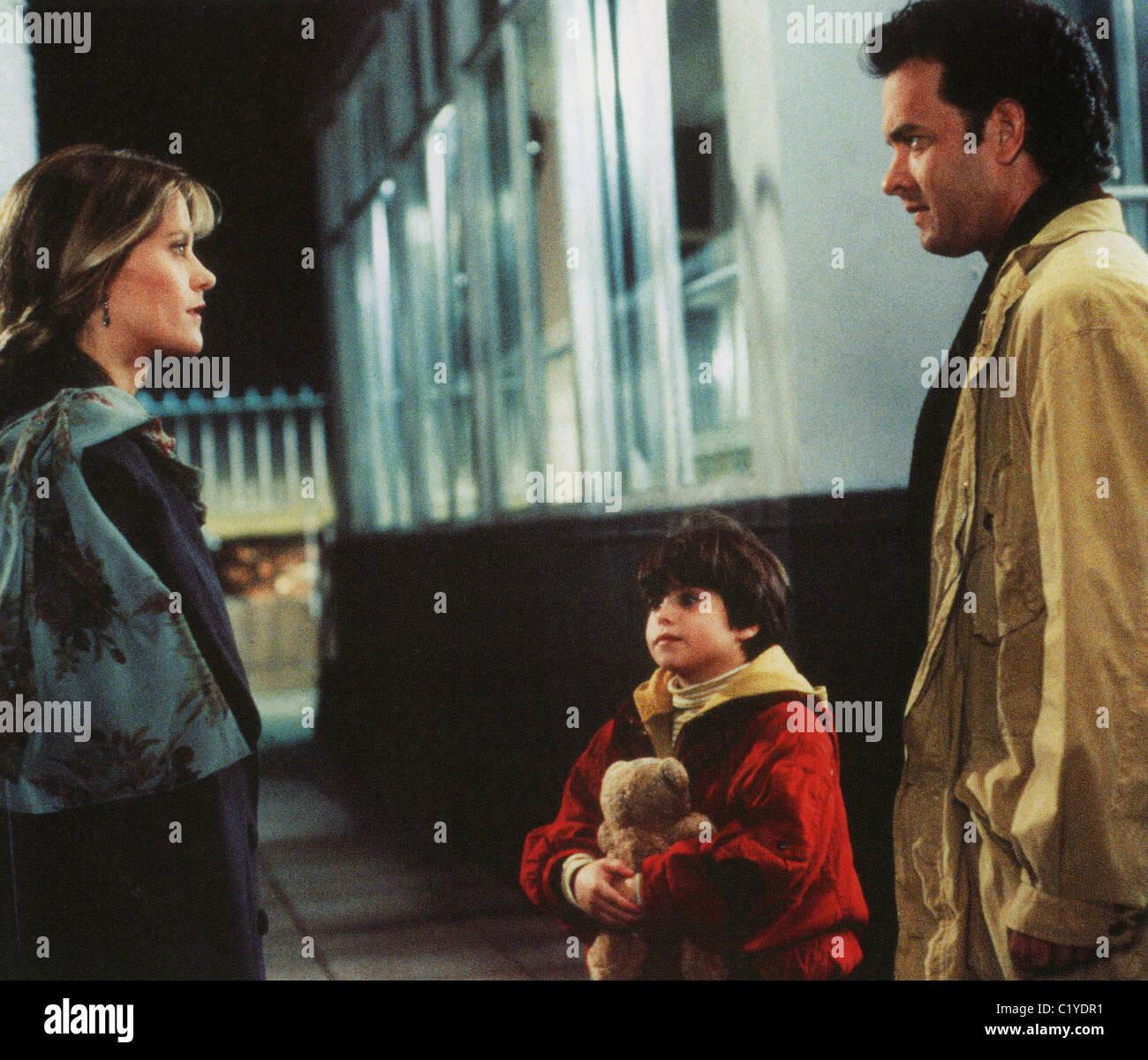 SLEEPLESS EN SEATTLE 1993 Tr-Star película con Meg Ryan, Ross Malinger y Tom Hanks a la derecha Imagen De Stock