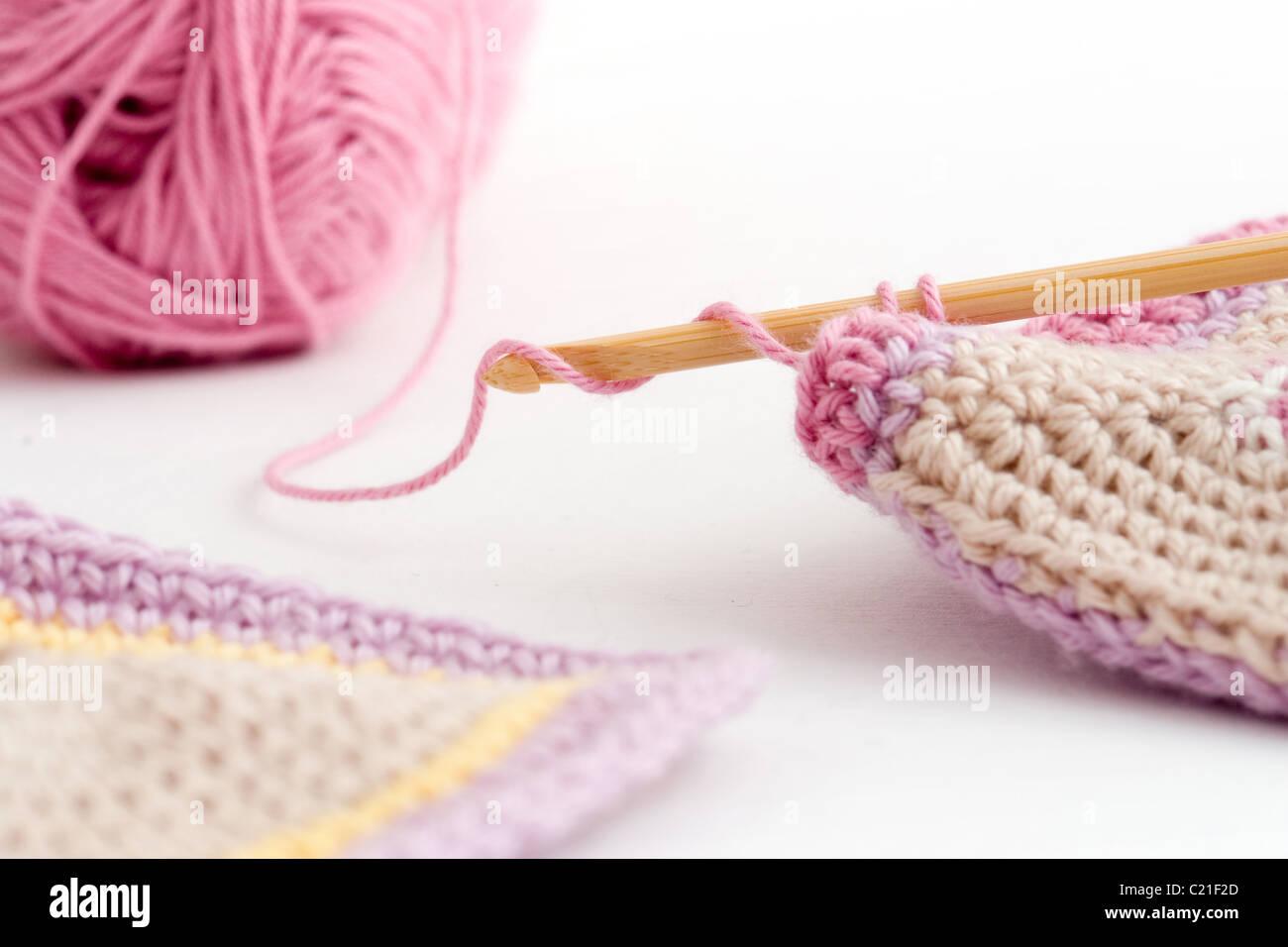 Crochet Crochet Work Imágenes De Stock & Crochet Crochet Work Fotos ...