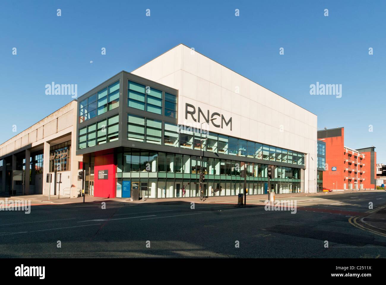 El Royal Northern College of Music (RNCM), Manchester, Inglaterra, Reino Unido. Foto de stock