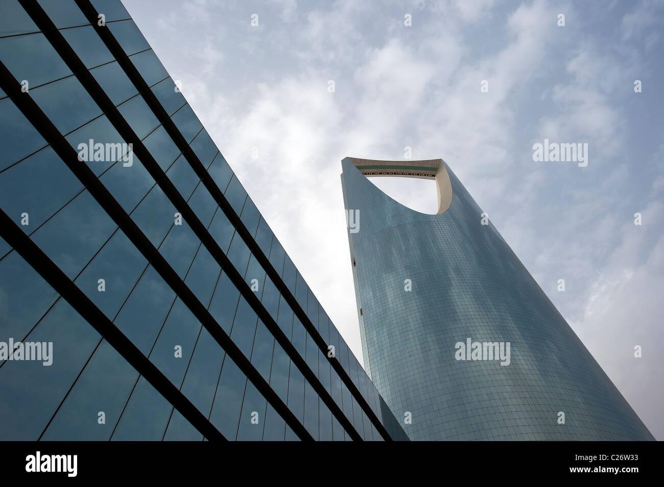 Torre del reino, en Riad, Arabia Saudita Imagen De Stock