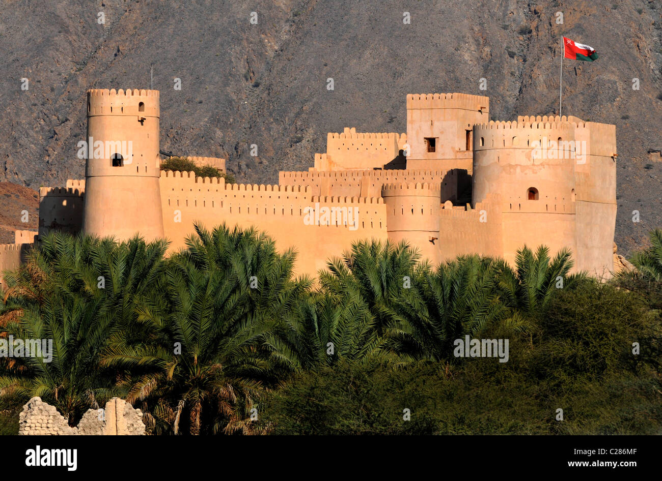 Nakhal Fort, Omán Imagen De Stock