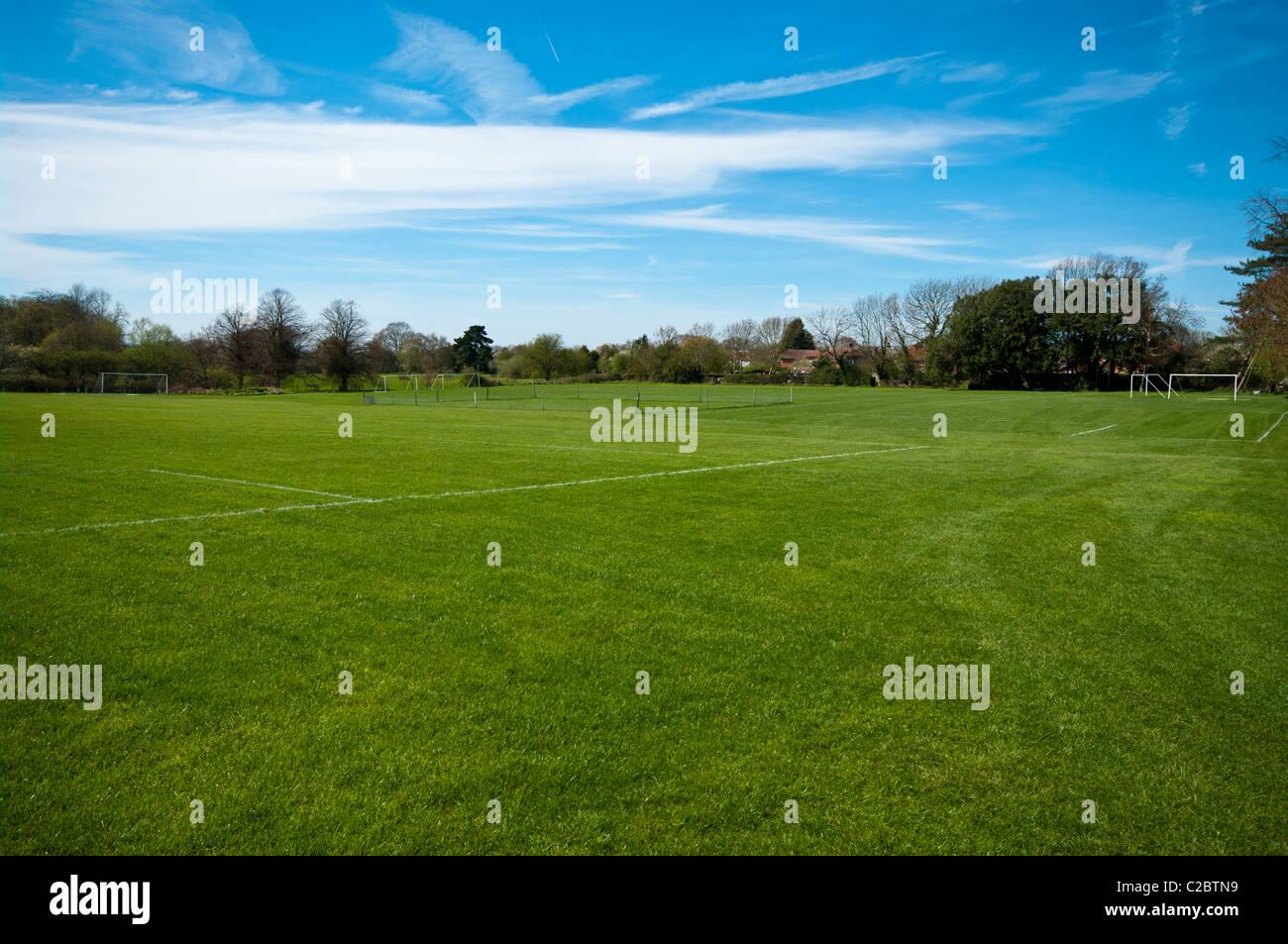 Campo de juego deportivo vacío Imagen De Stock