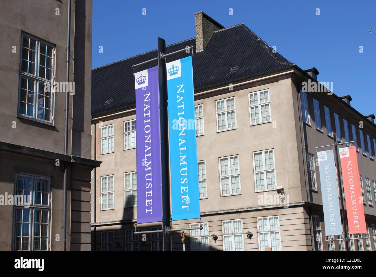 Museo Nacional de Copenhague, Dinamarca. Foto de stock