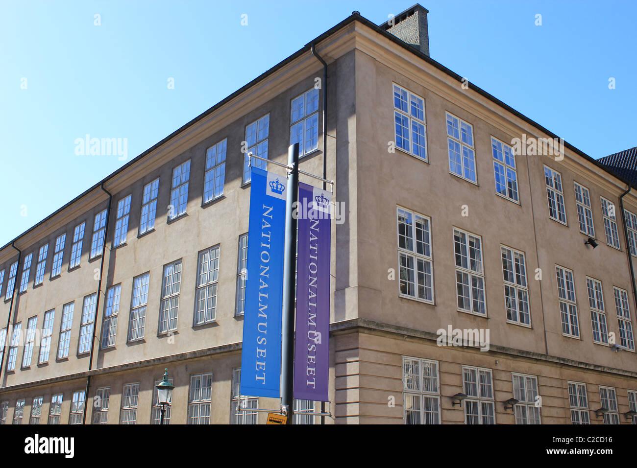 Museo Nacional de Copenhague Dinamarca Foto de stock