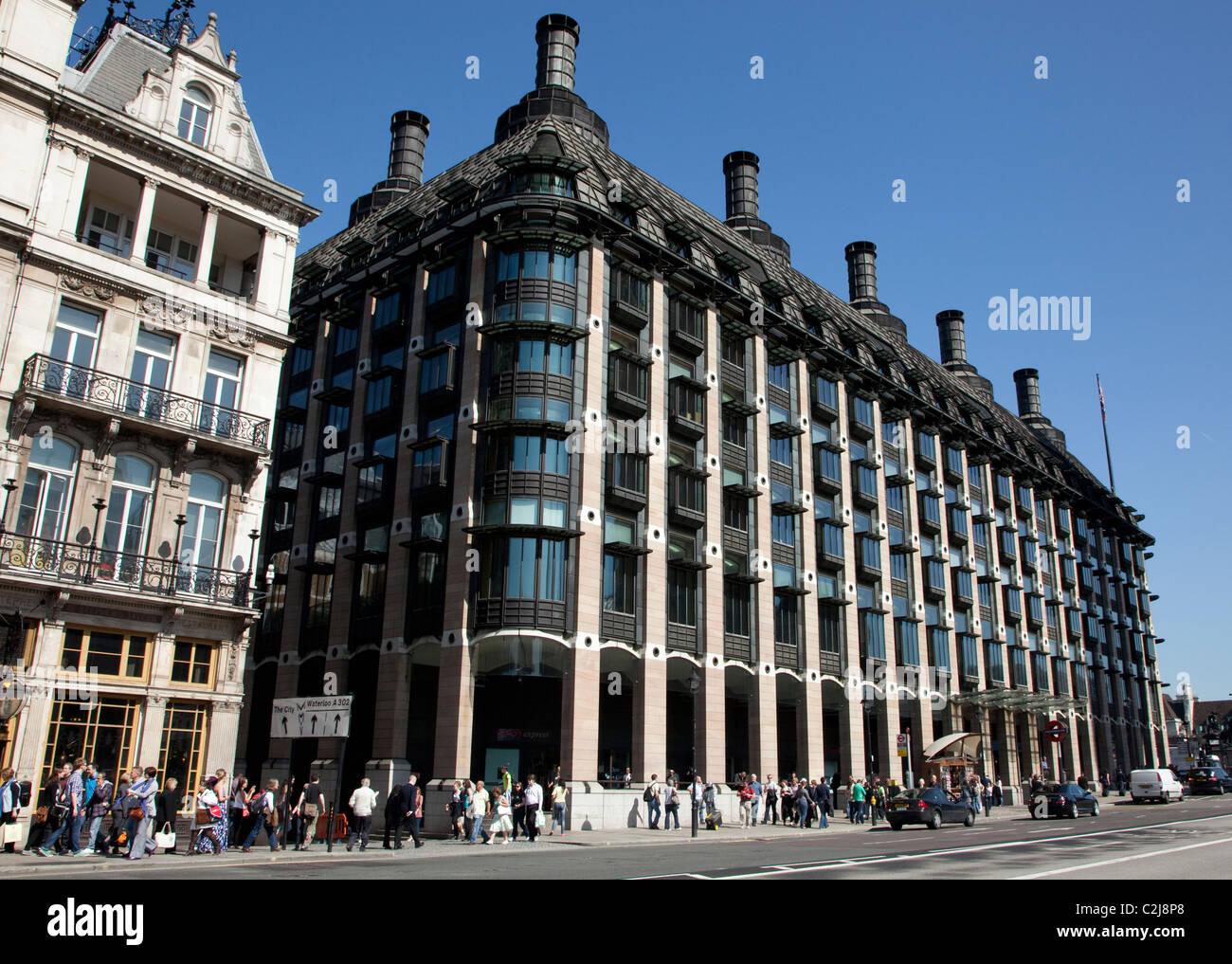 Portcullis House, Westminster, London Foto de stock