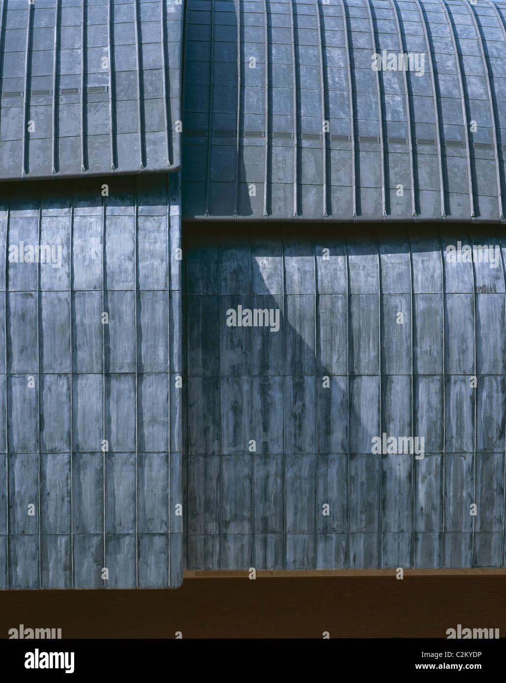 Auditorio Parco della Musica, Roma, 1997-2002. Detalle del techo. Imagen De Stock