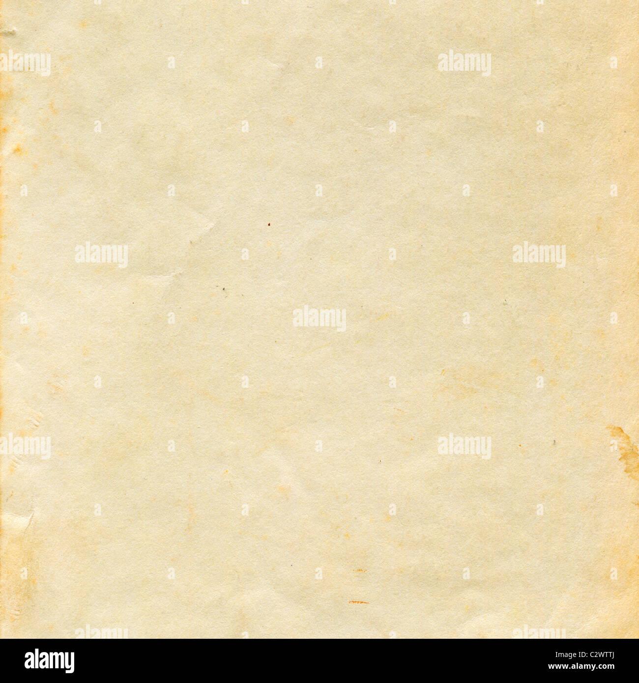 La textura de la superficie del papel viejo Imagen De Stock