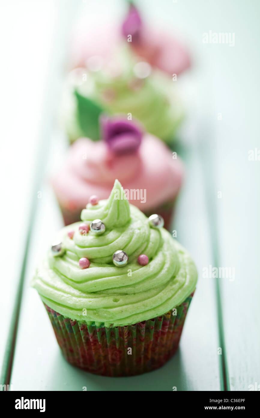 pastelitos (cupcakes) Imagen De Stock