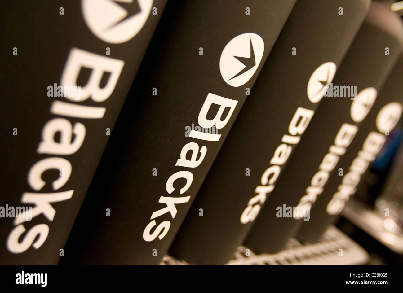 Imagen ilustrativa de una rama de los negros Leisure Group, en Londres. Imagen De Stock