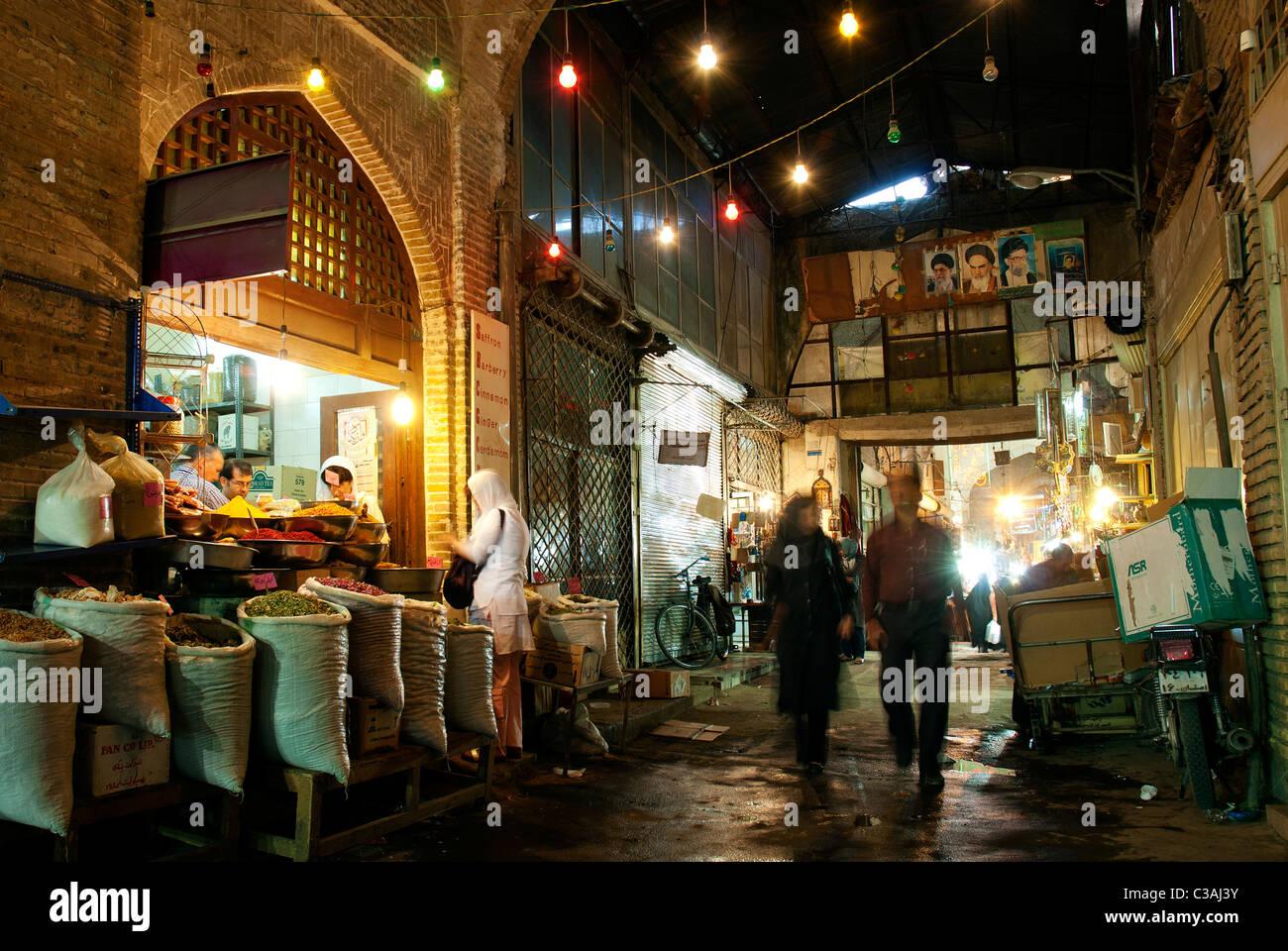 Mercado en Isfahan irán Imagen De Stock
