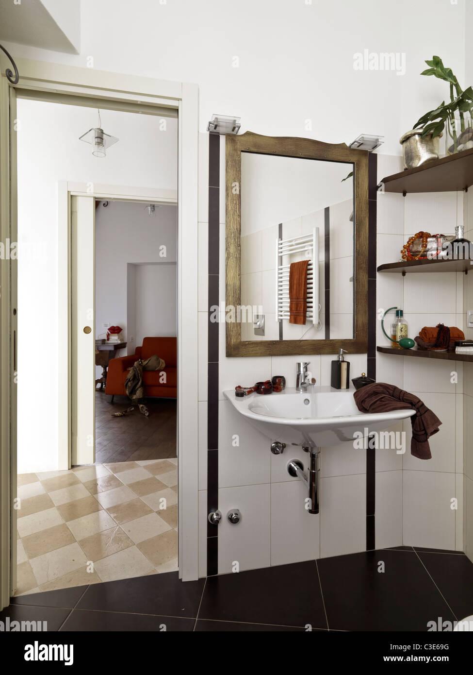 Dorable Cómo Enmarcar Espejo De Baño Con Clips Ideas - Ideas ...