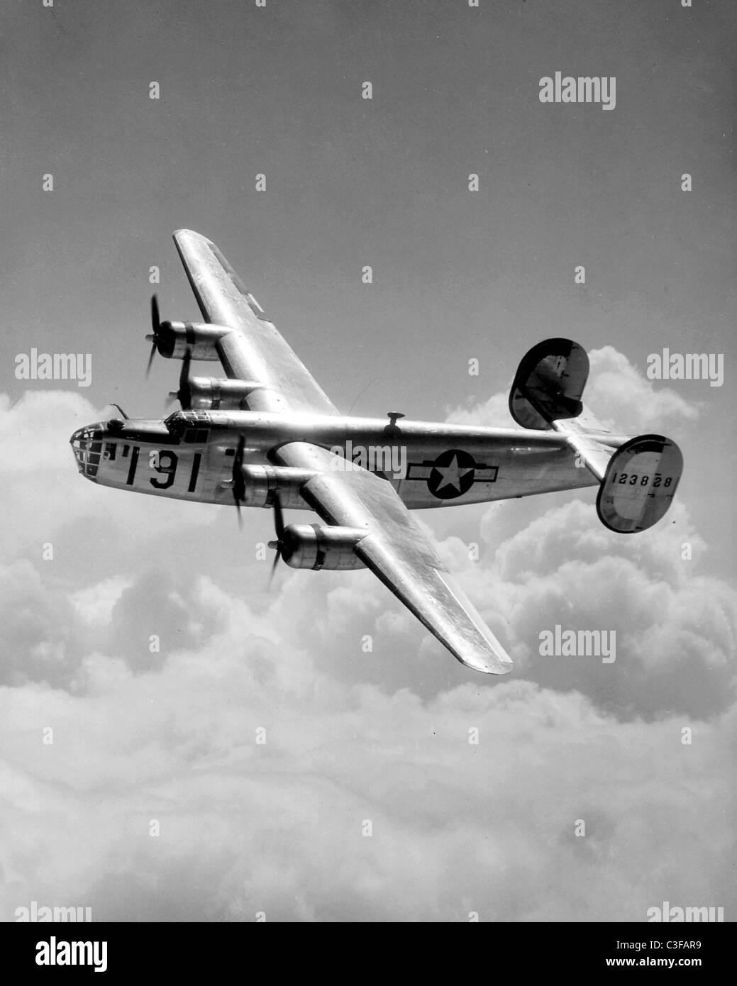 Consolidated B-24 Liberator Foto de stock
