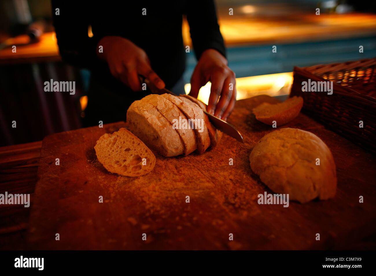 """Restaurante """"quince"""" en Amsterdam Imagen De Stock"""
