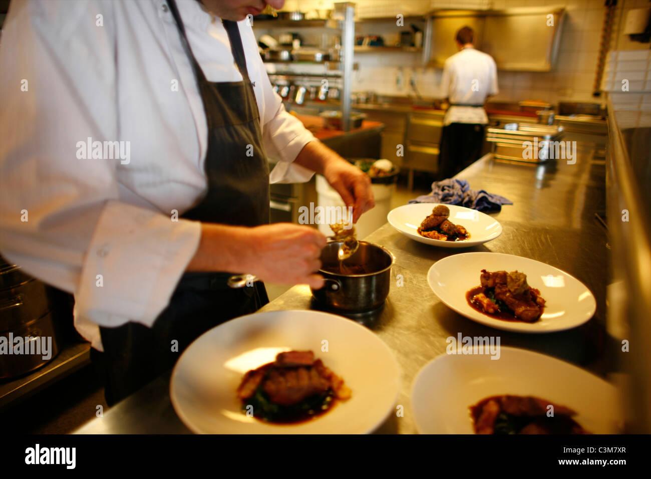 Restaurante quince Imagen De Stock