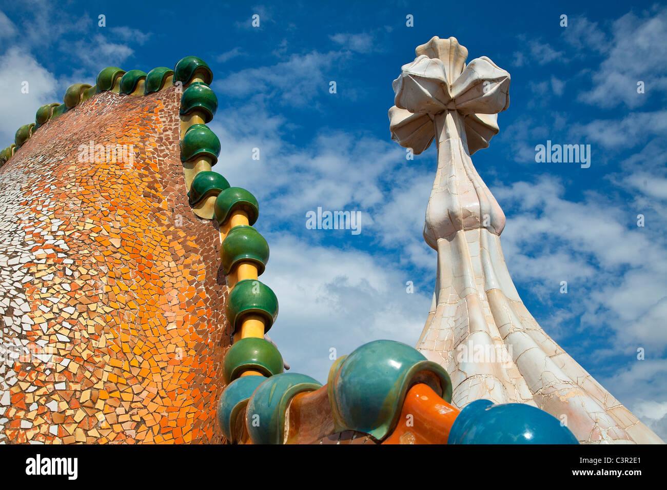 Barcelona, Casa Batlló Imagen De Stock