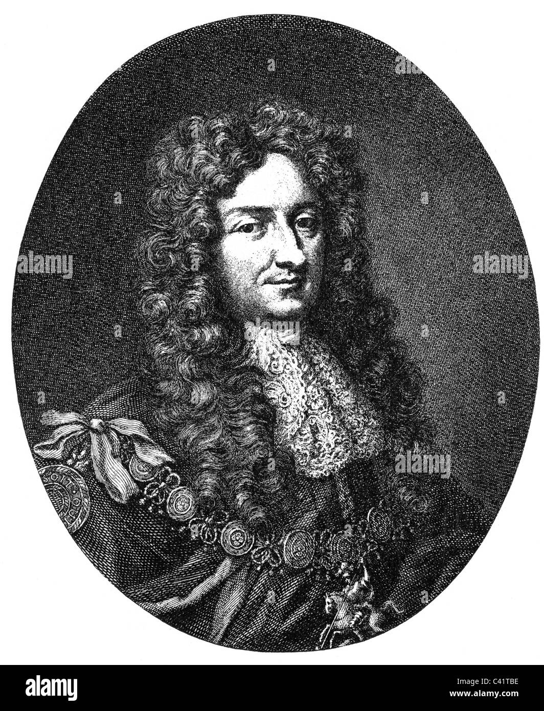 Hyde, Laurence, 1r Earl de Rochester, Marzo 1641 - 2.5.1711, políticos ingleses, retrato, grabado en cobre por Jacobus Houbraken, siglo XVIII, , Copyright del artista no ha de ser borrado Foto de stock