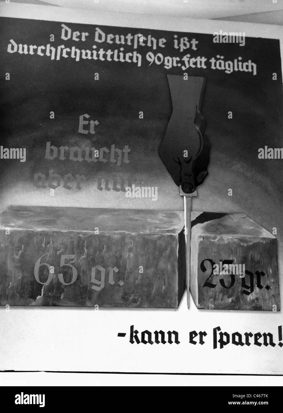 La Alemania nazi, la industria y la economía: exposiciones, 1933-1945 Foto de stock