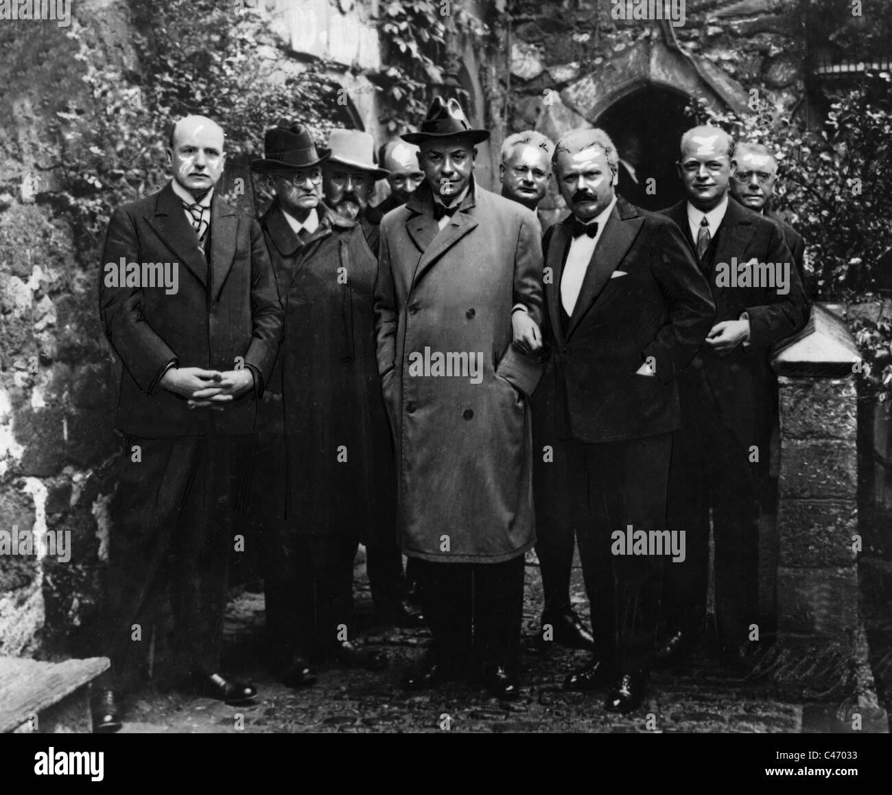 Freiherr von Muenchhausen Boerris Foto de stock