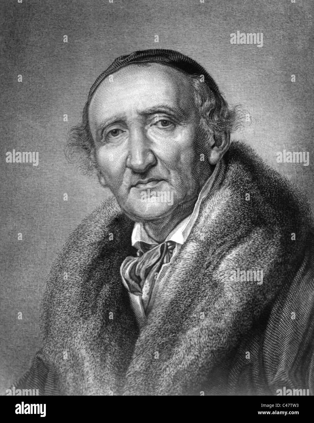 Johann Gottfried Schadow, Foto de stock