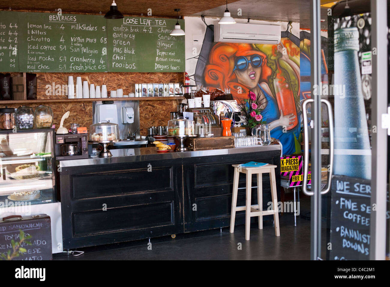 Cacheo Espresso Bar. Northbridge, Perth, Australia Occidental, Australia Imagen De Stock