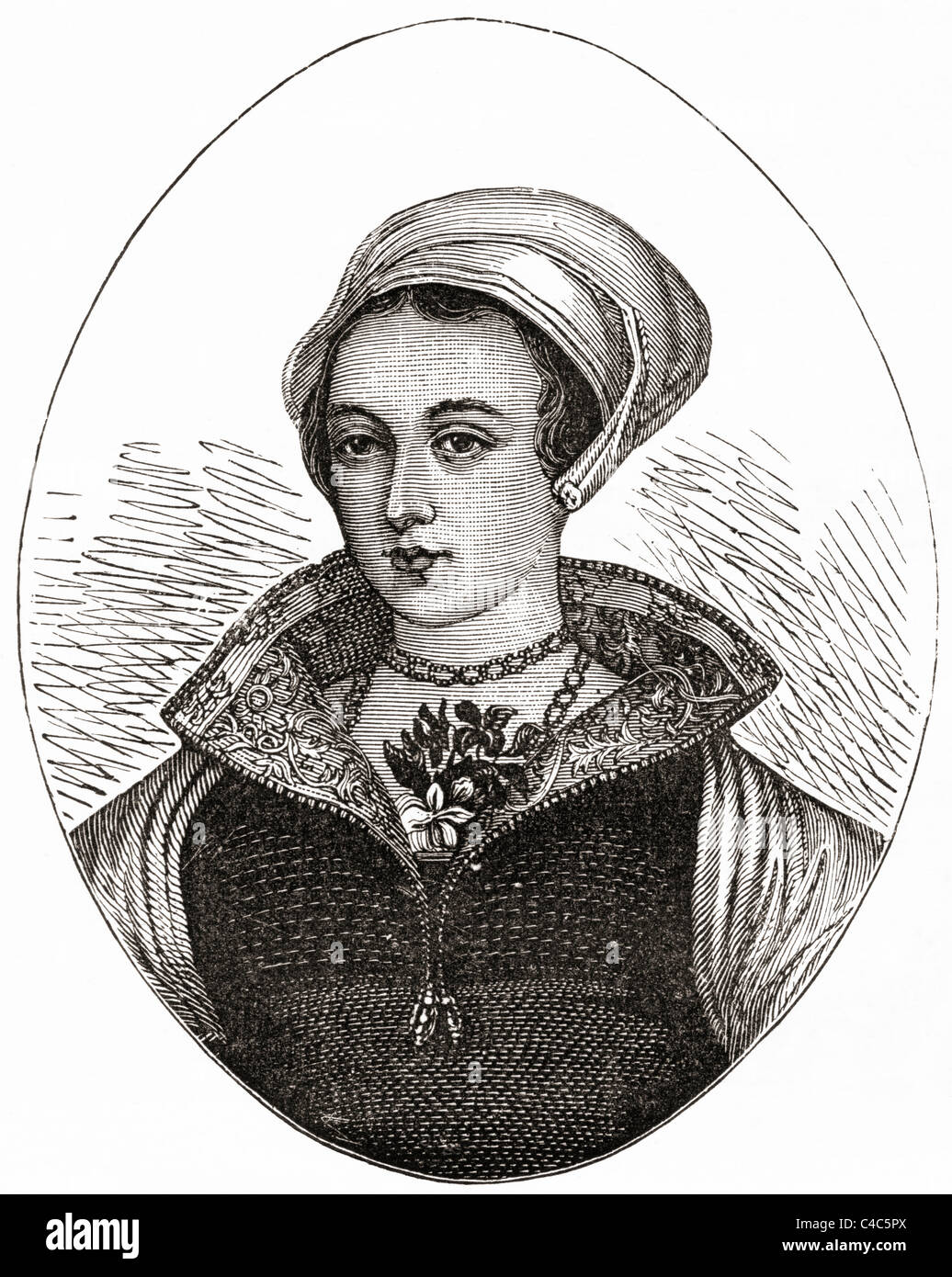 Lady Jane Gray, 1536 - 1554 aka los nueve días' Queen. Imagen De Stock