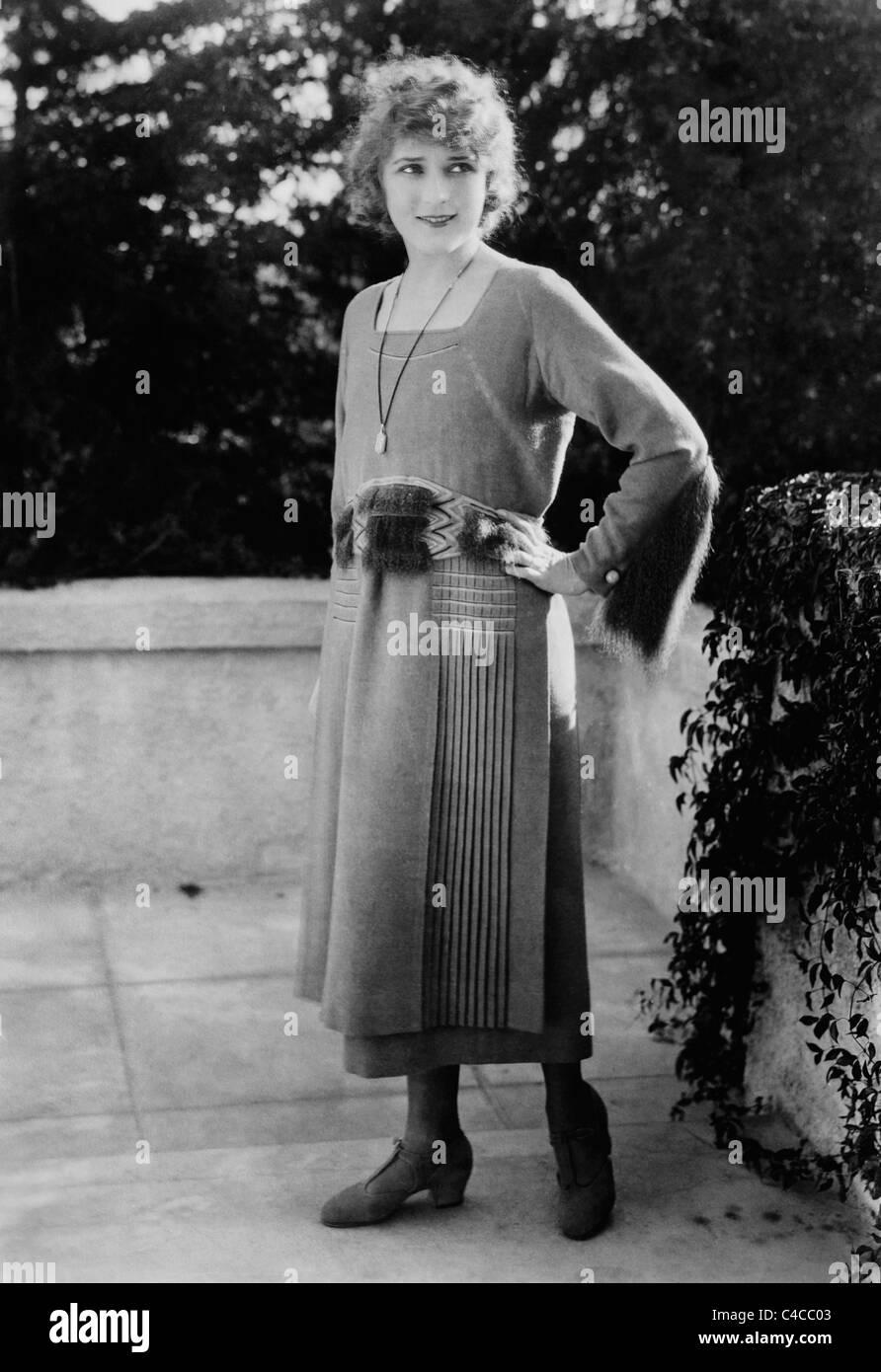 Vintage foto circa 1910s de la canadiense nacido actriz Mary Pickford (1892 - 1979). Imagen De Stock
