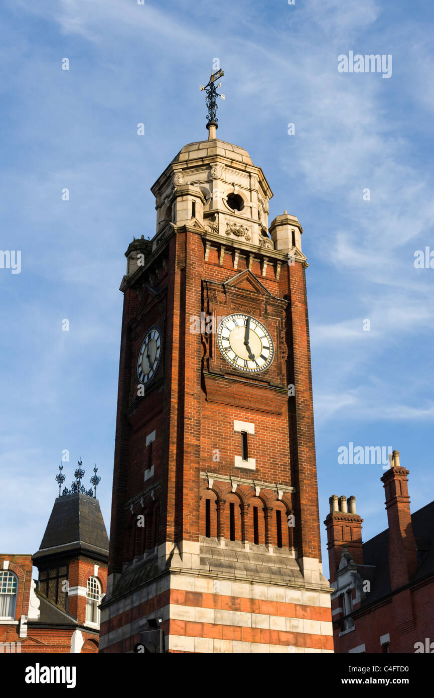 Crouch End Clock Tower, London, UK Imagen De Stock