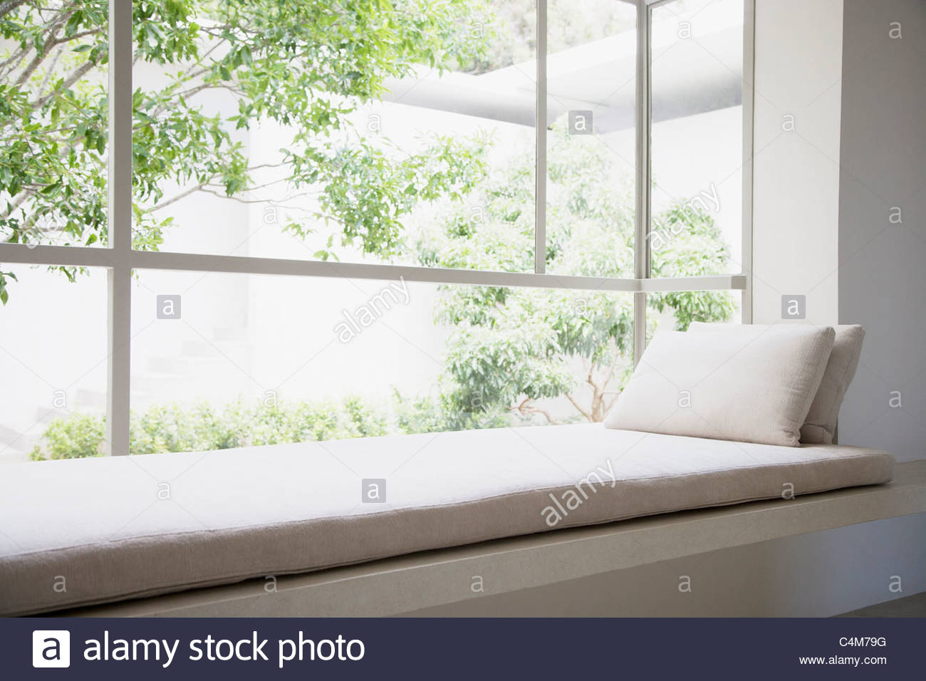 Asiento de la ventana Imagen De Stock