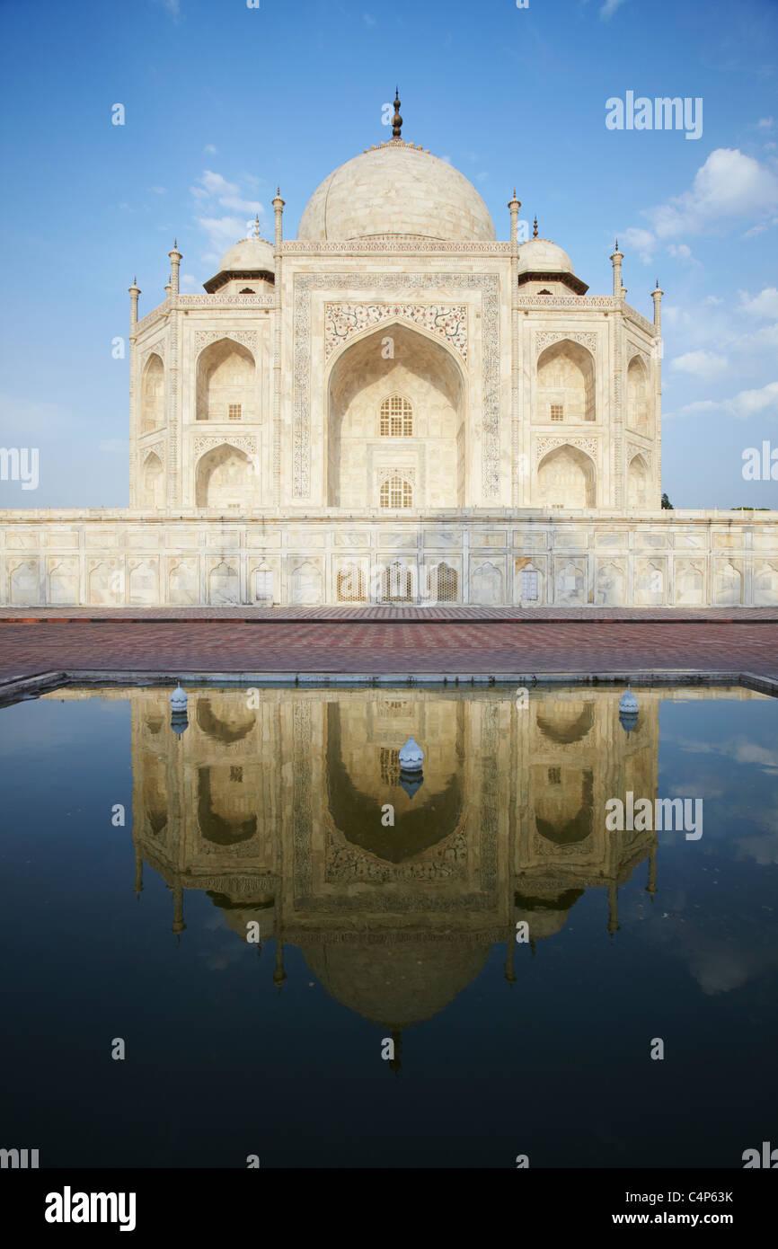 Taj Mahal, Agra, Uttar Pradesh, India Imagen De Stock
