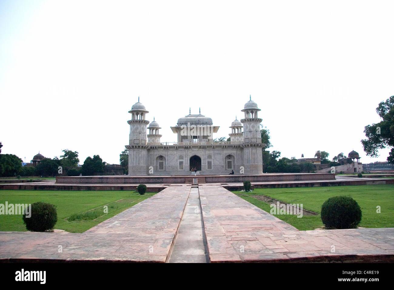 Itimad-ud-Daulah tumba, similar al Taj Maha, Agra, India Imagen De Stock