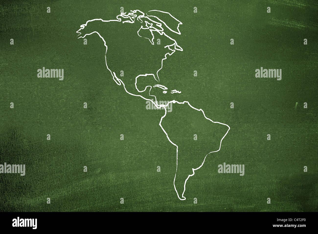 Las Américas Imagen De Stock