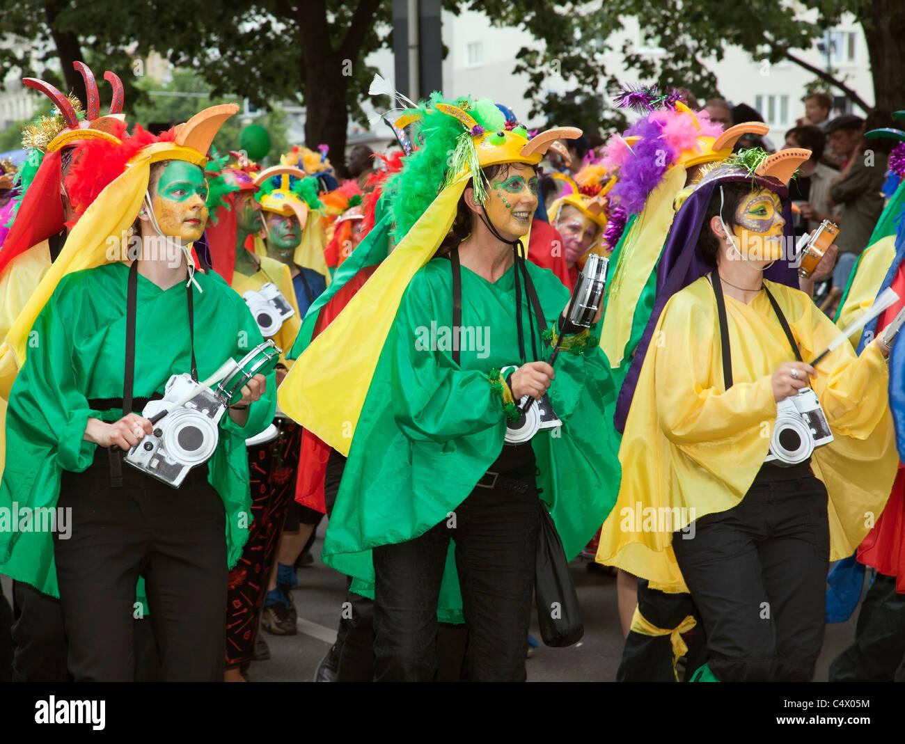 Carnaval de las Culturas, Berlín 2011 Imagen De Stock