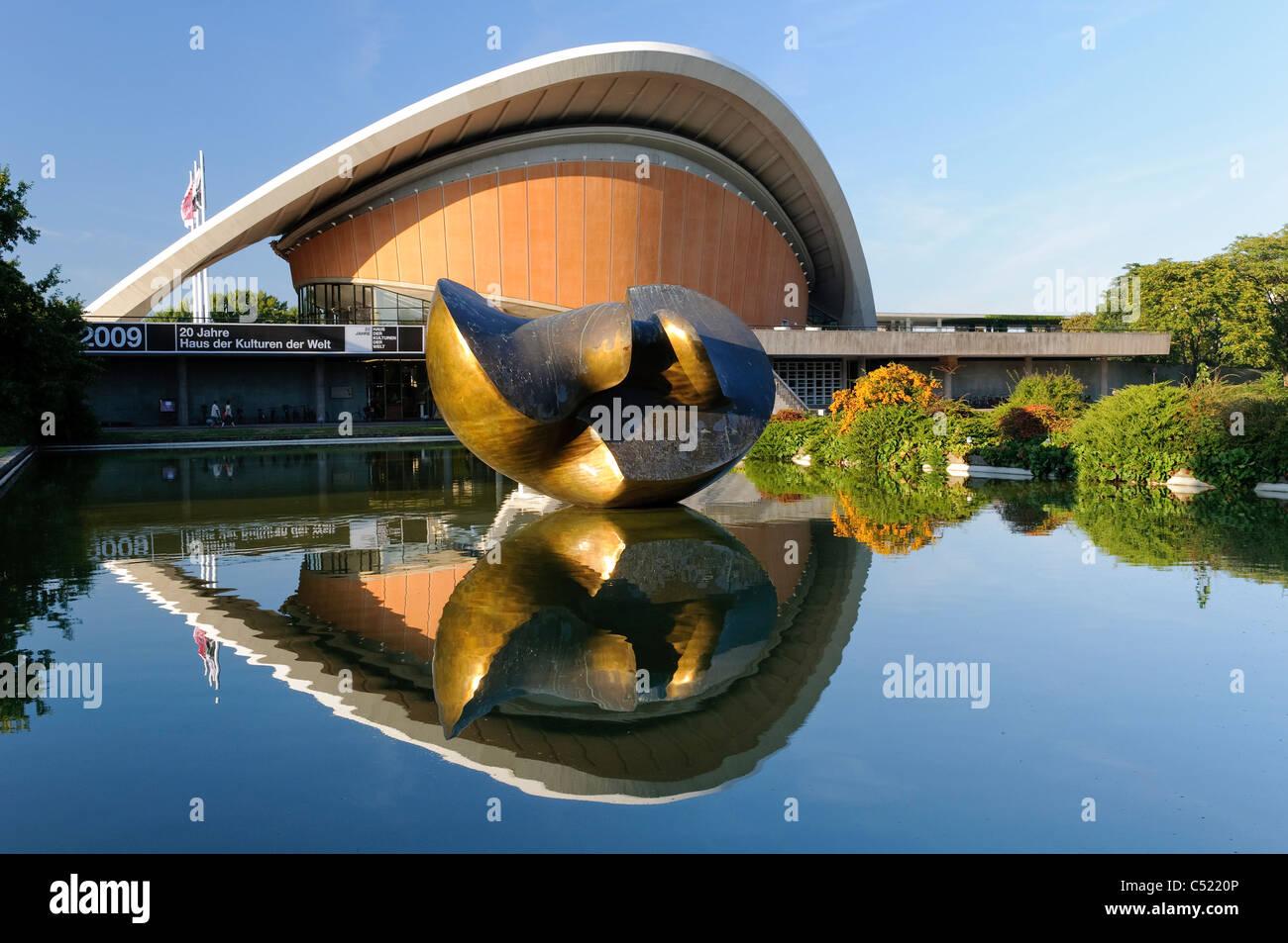 Casa de las Culturas del Mundo, Berlín, Alemania, Europa Imagen De Stock