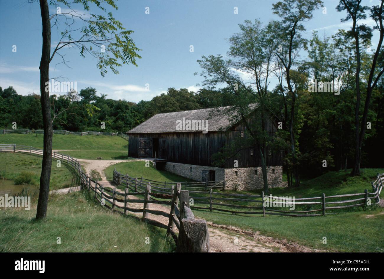 Estados Unidos, Ohio, Chilicothe, Adena State Memorial Foto de stock