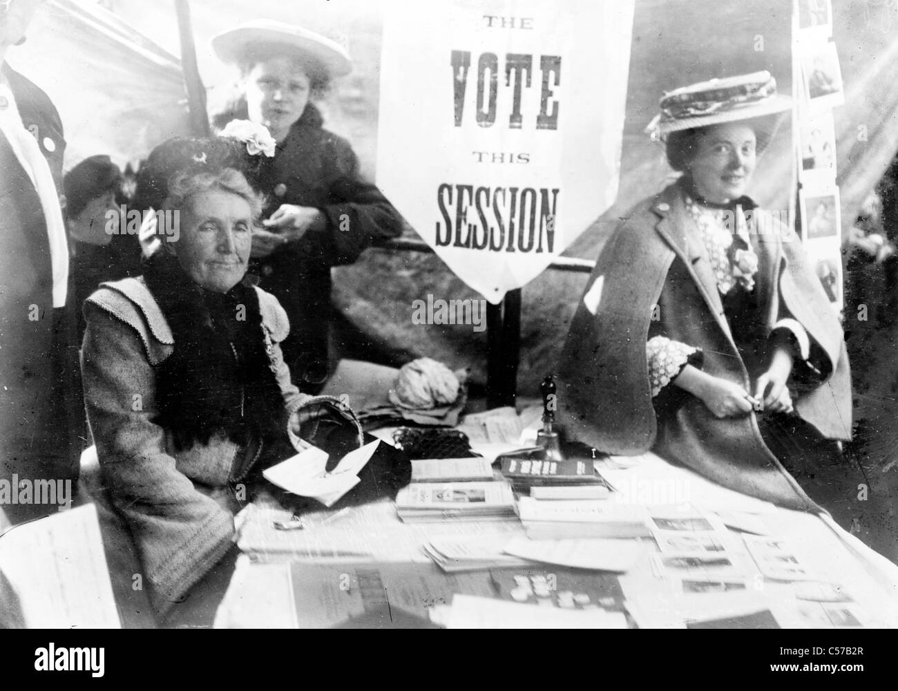 Suffragette reunión Imagen De Stock