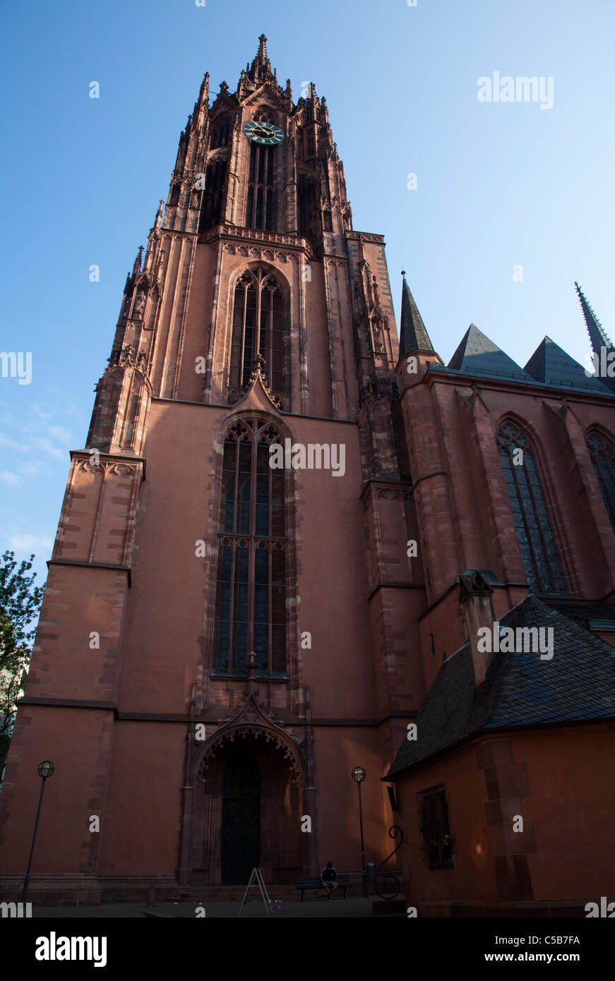 Frankfurt Dom iglesia catedral Imagen De Stock