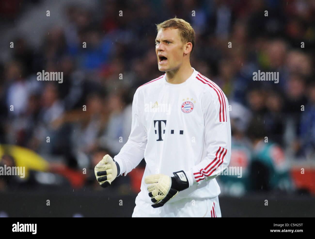 Portero Manuel Neuer, FC Bayern Munich, München, Munich Foto de stock