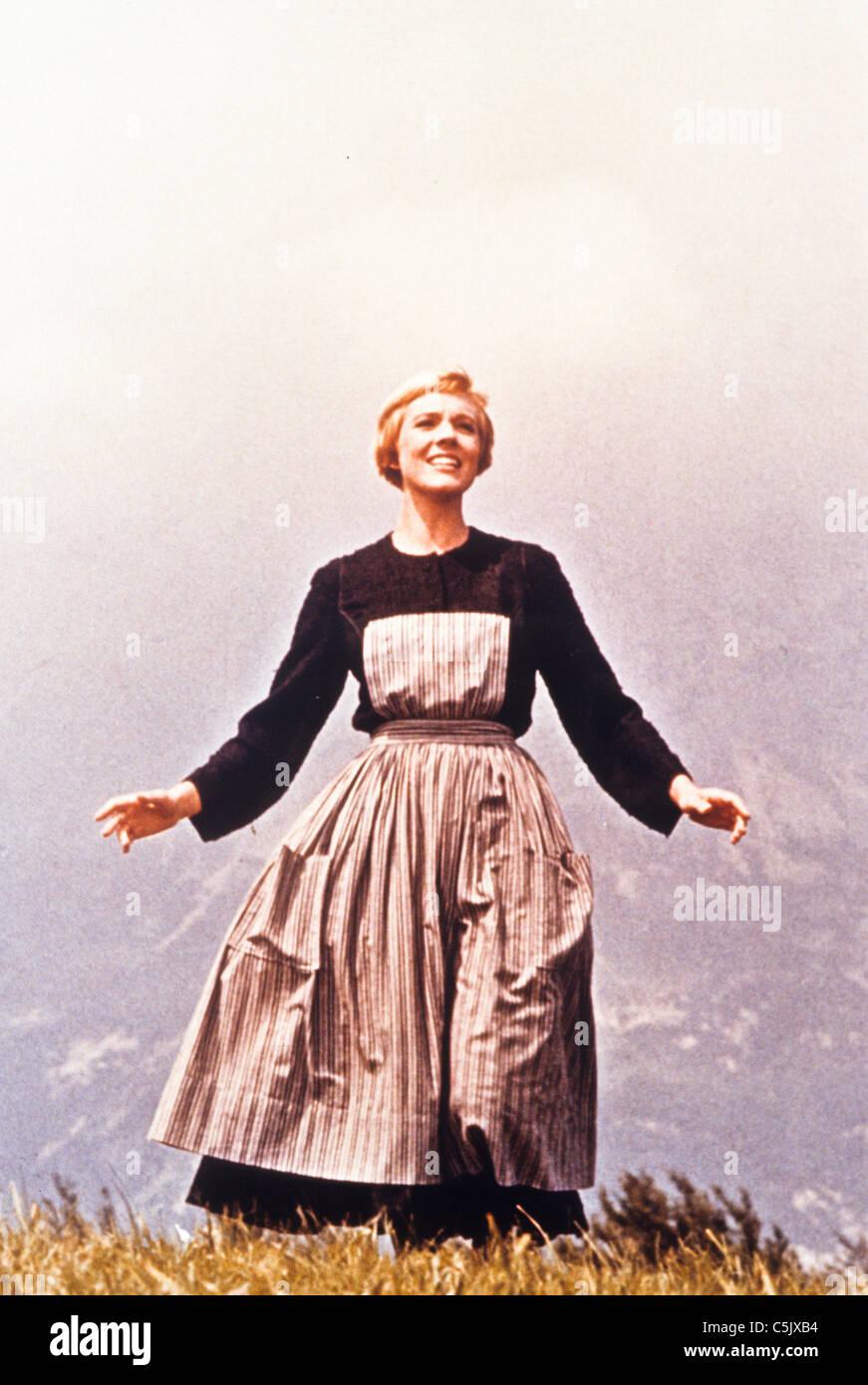 Julie Andrews en el sonido de la música ,1965 Imagen De Stock