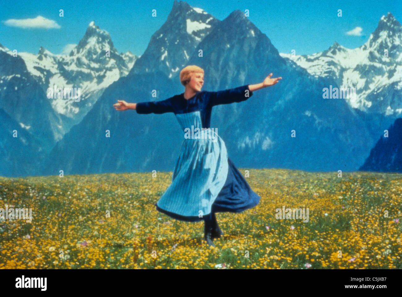 Julie Andrews en el sonido de la música,1965 Imagen De Stock