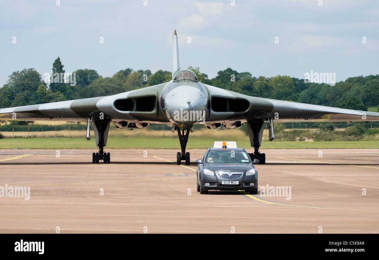Guerra Fría Avro Vulcan V-Bombardero Imagen De Stock