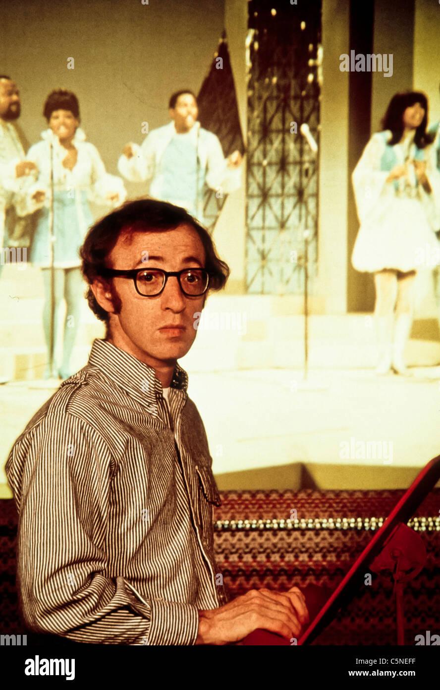 Woody Allen, 1980 Imagen De Stock