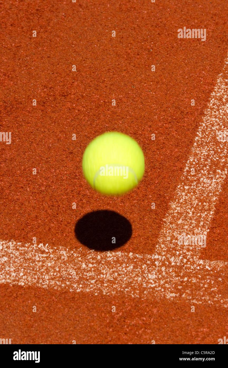 Es la pelota?! Foto de stock