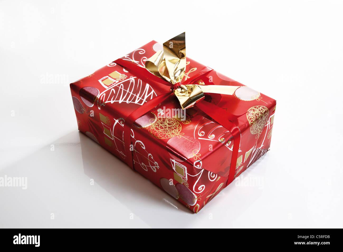 Regalo de navidad Imagen De Stock